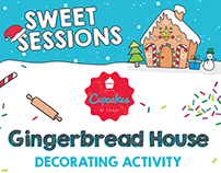 CBS Sweet Sessions: Gingerbread House Deco Activity