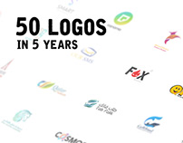 Creative Logo designs in 5 years