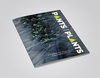 Pants from Plants | Editorial design