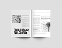 Grid Magazine Layout Design