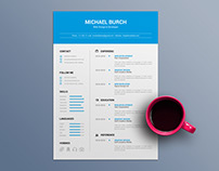 Free Minimal CV Template in Word File Format