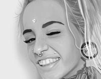 Girl ilustration- Chica ilustracion