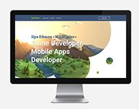 Game Developer's personal site