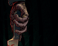 Halloween Hand Poster