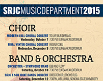 Fall 2015 Music Concerts