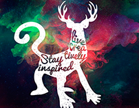 Live creatively, stay inspired