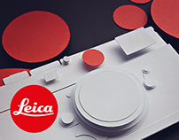 Leica M10 Papercraft Project