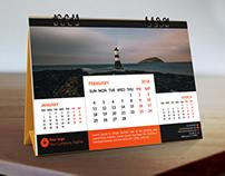Calendar Design 2018