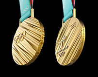 PyeongChang 2018 Winter Olympic Medal