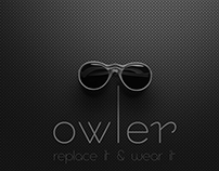 owler (sunglasses with replacement lens)