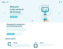 3D PRINT WEB APP