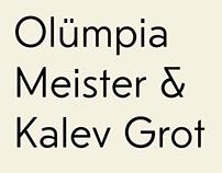 Kalev Grotesk 2.0 typeface
