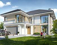 Projekt domu Riwiera 5