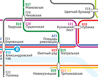 Moscow Metro Map Competion