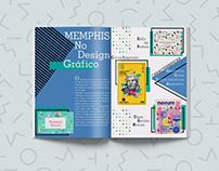 Revista - Design de Memphis
