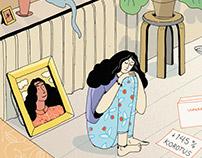 Editorial Illustrations: Kuluttaja 2016
