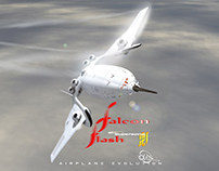 """FF"" Flash Falcon, Electric Supersonic Jet"