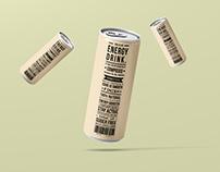 Jhakaas Energy Drink - Packaging Design
