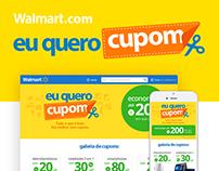 Walmart.com - Eu quero cupom