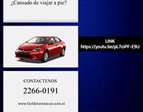 Publicidad Audiovisual Renta Car