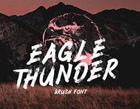 Free Eagle Thunder Brush Font