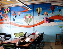 Tittar Lodge Productions (TLP): Wall Mural
