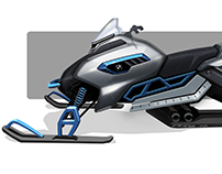 BMW Snowmobile Concept