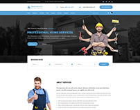 Repair Services - Handyman PSD Template