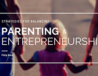 Strategies for Balancing Parenting & Entrepreneurship