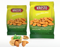 Kresto | Almonds packaging design