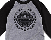 GUNNAR Crest Shirt Design