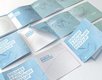 Square 4-Fold Brochure Mockups