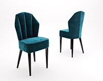 FREE 3D model - Havana chair