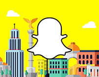 SnapChat - Siente tu ciudad