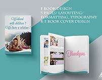 E book Design/Page Layouting/ Formatting & Cover Design