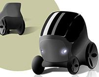 Wheel-Car (wheelchair-car)