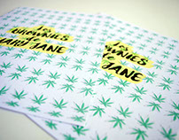 Los Brownies de Mary Jane / Risograph printing