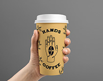 Hands on Coffee Branding