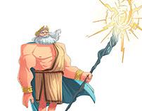 Zeus character design