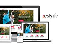 ZestyLife - Social Network Concept Development