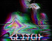 Glitch- A psychedelic tv style portraits