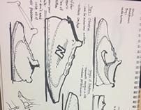 Shoe Design Sketching