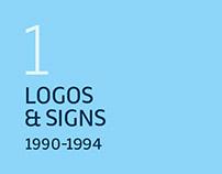 LOGOS & SIGNS / 1990-1994