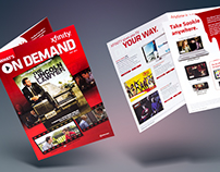 Comcast | Xfinity — Marketing Print Materials