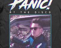 Panic! at the Disco Various Merch Designs