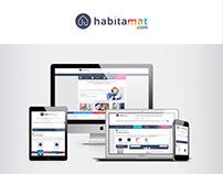 Site e-commerce Habitamat - Portfolio Maison du net