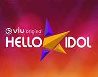 Hello K-Idol Logo Design