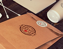 Red Bean Roastery Coffee Brand Identity & Guidelines