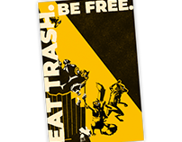 Eat Trash. Be Free: Queen Pepidra's All-Hive