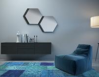 Details sitting room & living room Design